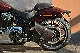 Alforja de Basculante para Harley Davidson Softail 2018-2020, Low Rider S, Fat Bob, Fat Boy, Street Bob, Low Rider, Slim, Breakout Made in Italy ENDSCUOIO