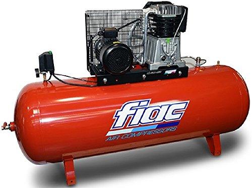 COMPRESSORE D'ARIA CON TRASMISSIONE A CINGHIA TRIFASE 500 L 7,5 HP FIAC AB 500-858 F *