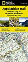 National Geographic Appalachian Trail, Swatara Gap to Delaware Water Gap - Pennsylvania (National Geographic Trails Illustrated Map)