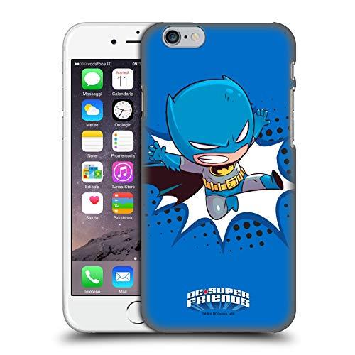 Head Case Designs Ufficiale Super Friends DC Comics Batman Bambini 1 Cover Dura per Parte Posteriore Compatibile con Apple iPhone 6 / iPhone 6s