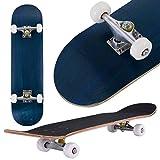 COSTWAY Skateboard, Mini Cruiser Completa, Longboard in Legno di Acero, Colori a Scelta, 79 x 20 cm