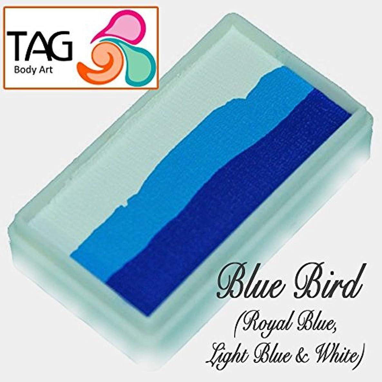 TAG Face Paint 1-Stroke Split Cake - Bluebird (30g)