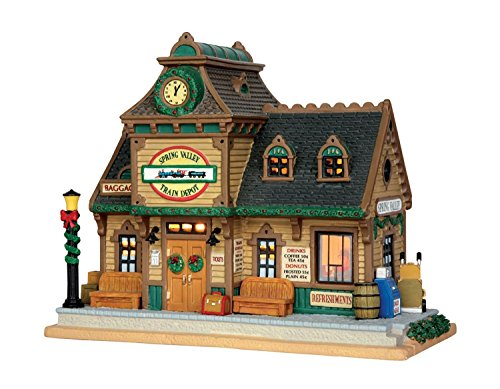 Village Spring Vly Depot by Lemax Inc