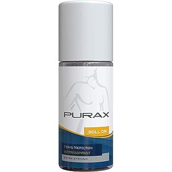 Purax Anti-Transpirant Roll-On Extra Stark, 1er Pack (1 x 50 ml)