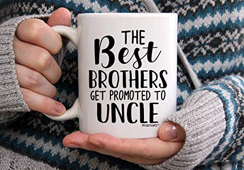 N\A Baby Reveal for Brother Los Mejores Hermanos ascienden a tío Anuncio de Embarazo Baby Surprise asciende a tío Mug Taza
