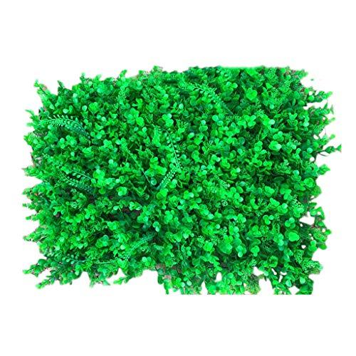 PING- Artificiel haie Plante Panneau Mu, Écran Vert de clôture de confidentialité PE Haute qualité 40x60cm / pièce for Jardin extérieur ou intérieur ou arrière-Cour et décoration de la Maison