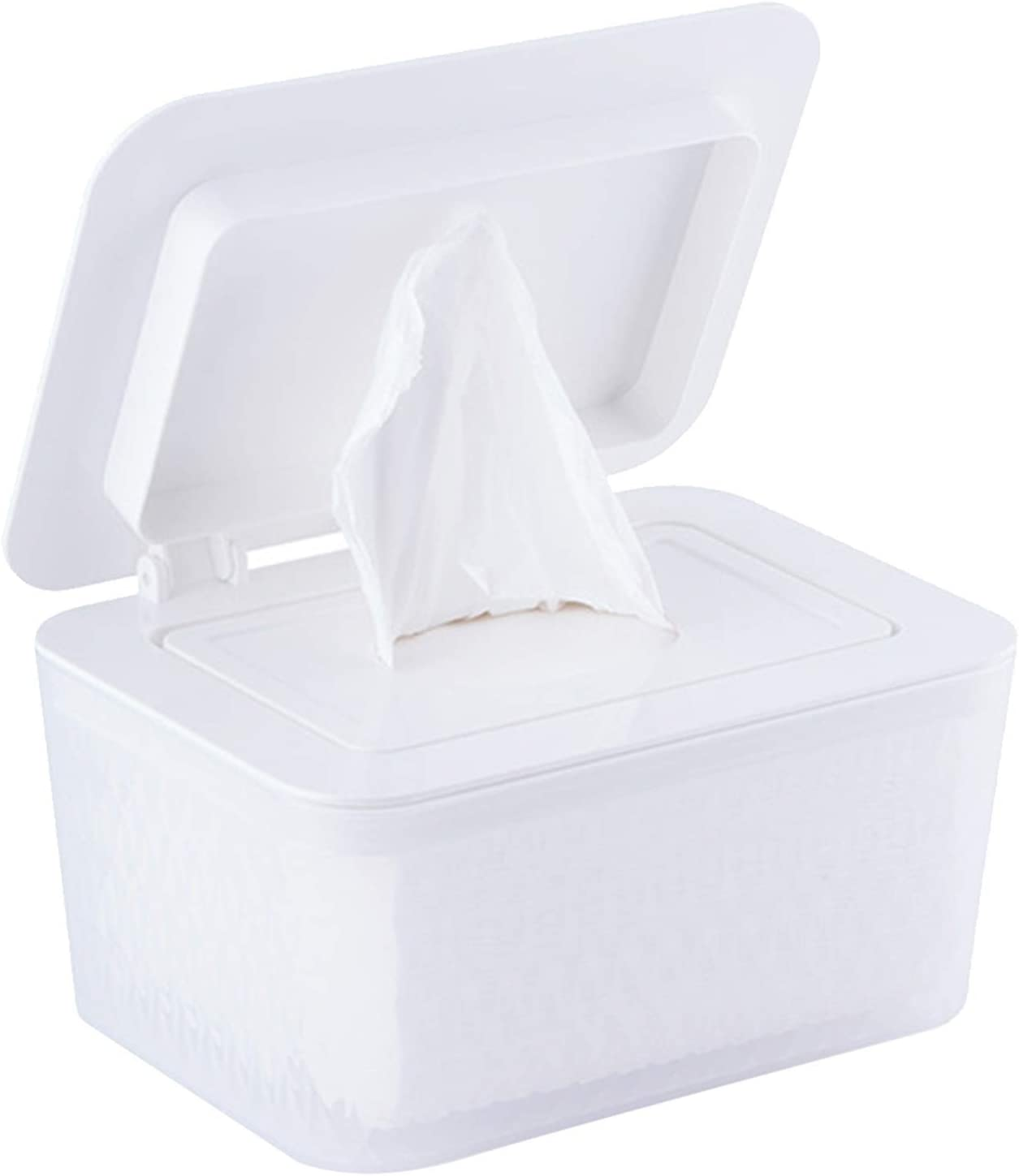 Tissues Box Wet Wipes Dispenser With low-pricing Dustproof service Lid Tissue Holder