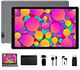 Android 10 Tablet Facetel Q3 Pro 10 inch Tablets: Octa-Core Processor, 3 GB RAM 32 GB Storage 128GB Extended Memory, Google GMS, Wi-Fi, Bluetooth, GPS, Keyboard & Mouse, Metal Grey