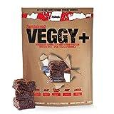 sinob Veggy+ (Schokolade Brownie) Veganes Proteinpulver aus Reis- und Erbsenprotein + BCAA. 1 x 900 g -