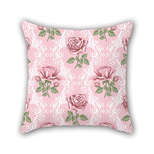 Artistdecor Flower Throw Christmas Pillow Covers Best For Home Relatives Bar Home Theater Kids Girls Son 20 X 20 Inches / 50 By 50 Cm(two Sides)