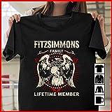 Fitzsimmons Shirts Fitzsimmons Family Lifetime Member Tshirt, Long Sleeve, Sweatshirt, Hoodie. tshirt, tshirt