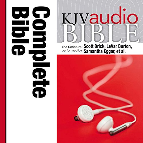 Pure Voice Audio Bible - King James Version, KJV: Complete Bible audiobook cover art