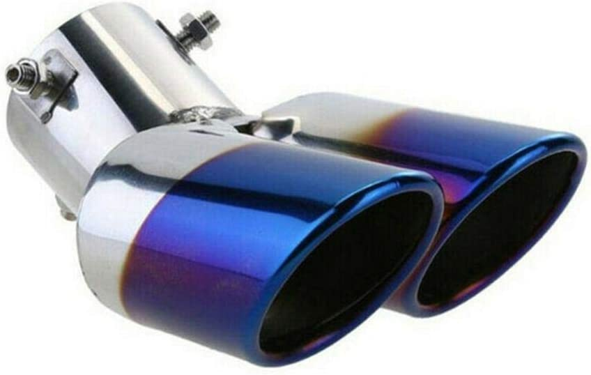 ZHHRHC Stainless Steel Car High quality new Super beauty product restock quality top! Rear Exhaust Pipe Double Wheel D