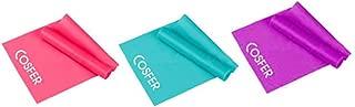 Cosfer 3 lü Hafif-Orta-Sert Direnç Seviyeli Pilates Bandı Seti PB120-75