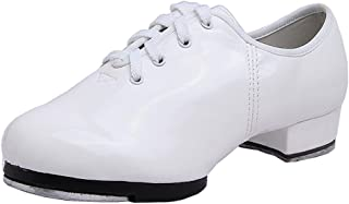 """Pierides Little Kids Boys Tap Shoes with 1.2"""" Heel"""