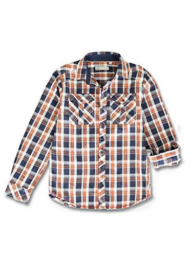Lemon Beret Teen Boys Shirt Blusa, Navy/Sierra, 12 años para Niñas