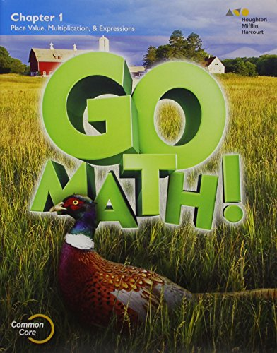 Go Math!: Multi-Volume Student Edition Bundle Grade 5 2015