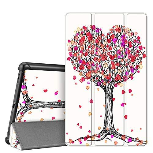 FINTIE Custodia per Samsung Galaxy Tab A 10.1 2019 - Ultra Sottile Leggero Cover Protettiva Case per Samsung Galaxy Tab A 10.1 Pollici Modello SM-T510   SM-T515 2019, Autumn Love