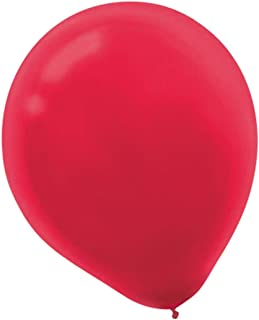 Solid Color Latex Balloons   Apple Red   Pack of 72   Party Decor