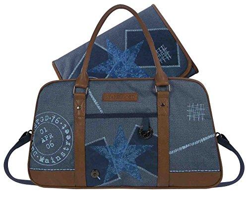 STAPELGOED 500-6750-2 Thougher Wickeltasche, Größe S, blau