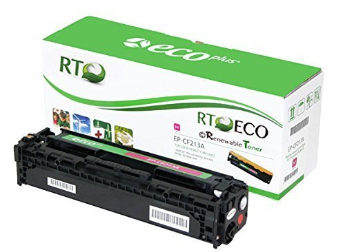 Renewable Toner Compatible Toner Cartridge Replacement for HP 131A CF213A Color Laserjet 200 M251n M251nw M276n M276nw (Magenta)