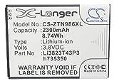 Cameron Sino Batteries for ZTE N817 N986 N9516 N9132 N9835 Z832 Z818L Z828TL ZFive2 Z836BL Z777 V975 U988S Q802T Q801L Q801U AvidPlus Allstar Prestige Sonata3 GrandXZ777 AvidPlusLTE