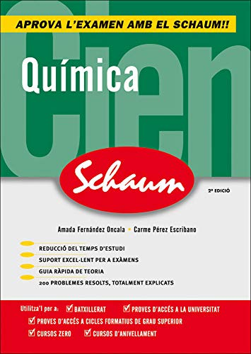 CUTR QUIMICA SCHAUM SELECTIVIDAD - CURSO CERO (CATALAN) - 9788448198527