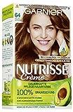 Garnier Nutrisse Creme 64 Heller Bernstein, Dauerhafte Haarfarbe mit Olivenöl und Avocadoöl,...