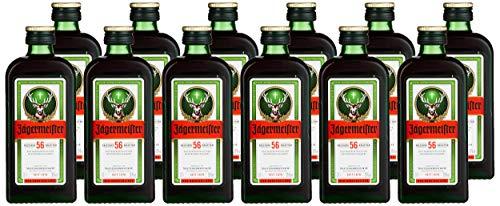 Jägermeister Kräuterlikör Pack (12 x 0.1 l)