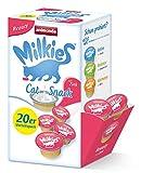 animonda Milkies Beauty, Katzenmilch portioniert, 4 x 20 Cups à 15 g