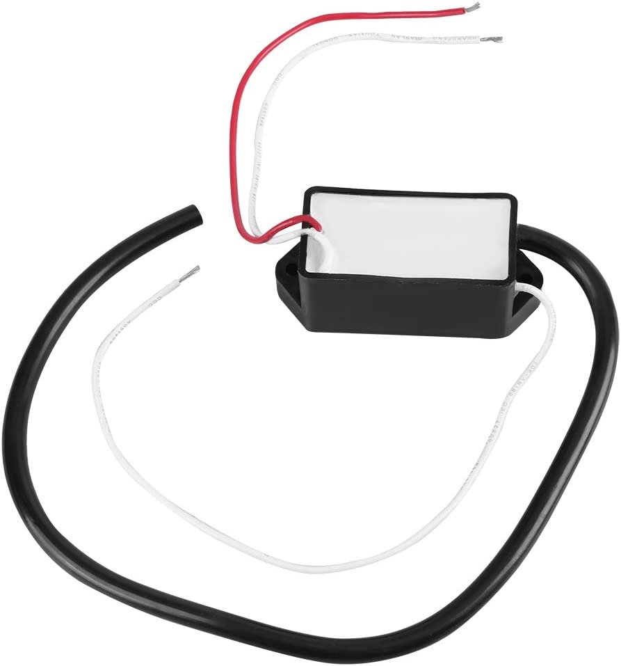 Generador de alto voltaje, generador Módulo de arco eléctrico DC3.6V/4.8V/6V/12V Generador de pulsos de alto voltaje DC 3kV-11kV Módulo de arco eléctrico estupendo