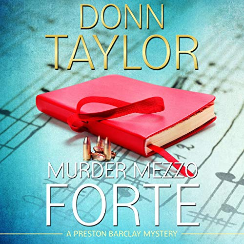 Murder Mezzo Forte audiobook cover art