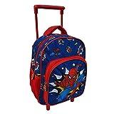 Zaino Asilo Trolley Spiderman Marvel 2 Ruote Manico ALLUNGABILE CM.30 - SP0617