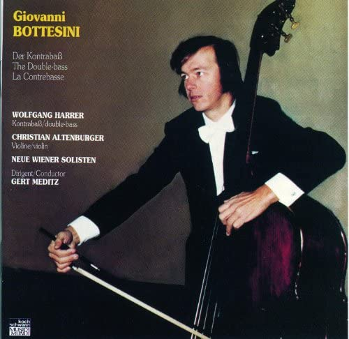 Wolfgang Harrer, Christian Altenburger, Neue Wiener Solisten & Gert Meditz