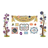 You-Nique Tree-Mendous Students Mini Bulletin Board Set