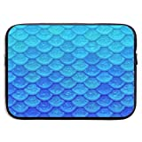 Waterproof Laptop Sleeve 13 Inch, Mermaid Fish Scale Business Briefcase Protective Bag, Computer Case Cover for Ultrabook, MacBook Pro, MacBook Air, Asus, Samsung, Sony, Notebook