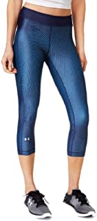 Under Armour Womens Compression Fitness Athletic Leggings Navy XL