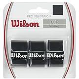 Wilson Pro Overgrip Sensation 3 Black Black Size:Standard by