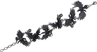 Alchemy Gothic A101 - Flocking Ravens -Bracelet