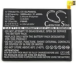 Cameron Sino 3000mAh Replacement Battery for Elephone P9000, P9000 Dual SIM LTE, P9000 Lite