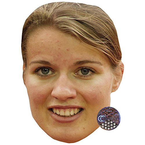 Celebrity Cutouts Dafne Schippers Maske aus Karton