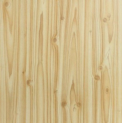 Klebefolie Holzdekor- Möbelfolie Holz Kiefer 45 cm x 200 cm Dekorfolie selbstklebende Folie für Haus und Gewerbe - Selbstklebefolie