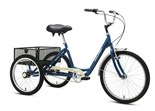 7 Best 3 Wheel Bikes For Seniors (Guide & Review) - Raleigh Bikes Tristar 3-Speed Trike