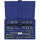 Irwin Industrial Tools 24614 Fractional Tap and Hex Die Set, 24-Piece...