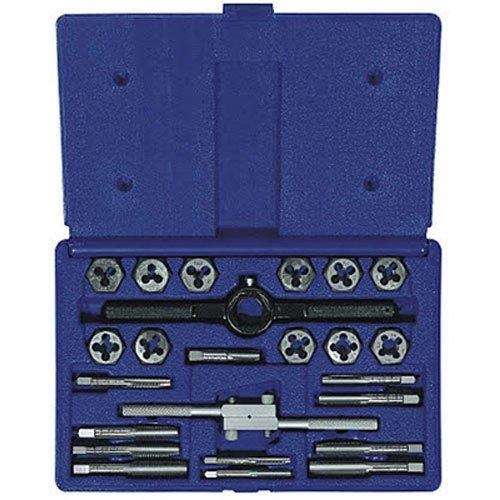 Irwin Industrial Tools 24614 Fractional Tap and Hex Die Set, 24-Piece