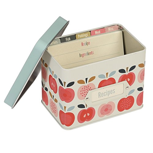 Vintage Apple Design Boîte à recettes