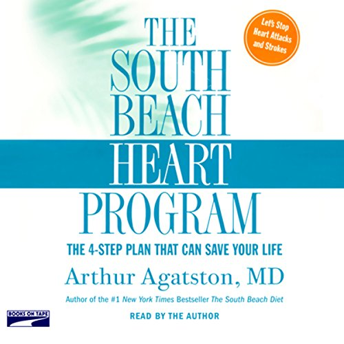 The South Beach Heart Program audiobook cover art