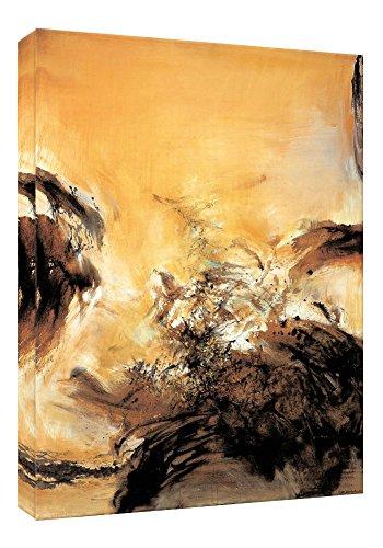 Stampe su tela di Zhaowuji7 della parete di arte, pitture a olio di alta qualità per la decorazione domestica (60cm x 90cm) (Unframed)
