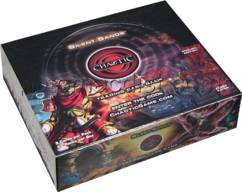 Chaotic Silent Sands Booster Box [Toy] B001VOV06M Lass unsere Waren in die Welt gehen      Online Kaufen
