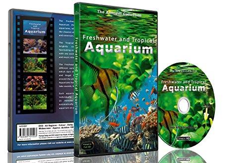 Aquarium DVD - Süßwasser und tropische Aquarien 100 Minuten HD mit Musik und natürlichen Geräuschen